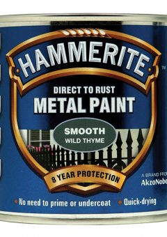 Direct to Rust Smooth Finish Metal Paint Wild Thyme 250ml - HMMSFWT250 3