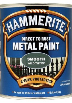 Direct to Rust Smooth Finish Metal Paint Wild Thyme 750ml - HMMSFWT750 2