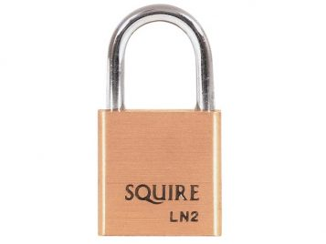 LN2 Lion Brass Padlock 25mm - HSQLN2 1