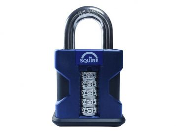 SS50 Hi-Security Combi Padlock 50mm Open Shackle - HSQSS50COMB 1