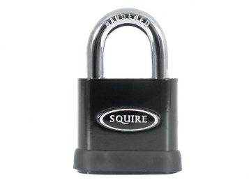 SS80S Stronghold Solid Steel Padlock 80mm CEN6 Boxed - HSQSS80S 1