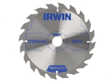 Construction Circular Saw Blade 235 x 30mm x 20T ATB - IRW1897207 1