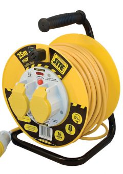 Cable Reel 25 Metre 16A 110 Volt Thermal Cut-Out 11