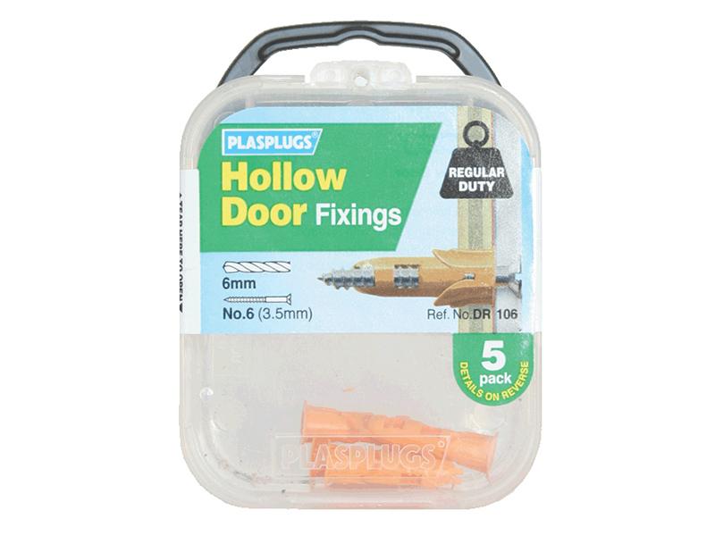 DR 106 Hollow Door Fixings (5) 1
