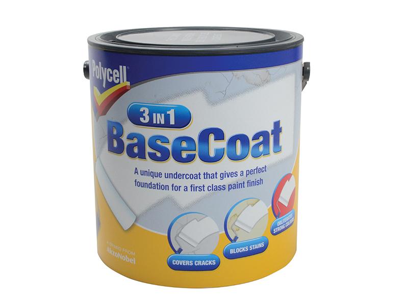 3 in 1 Basecoat 2.5 Litre 1
