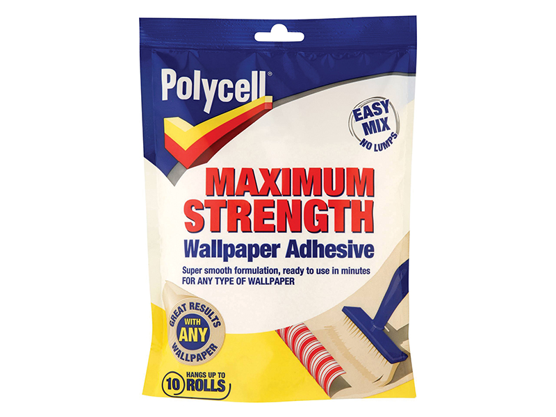 Maximum Strength Wallpaper Adhesive 5 Roll 1