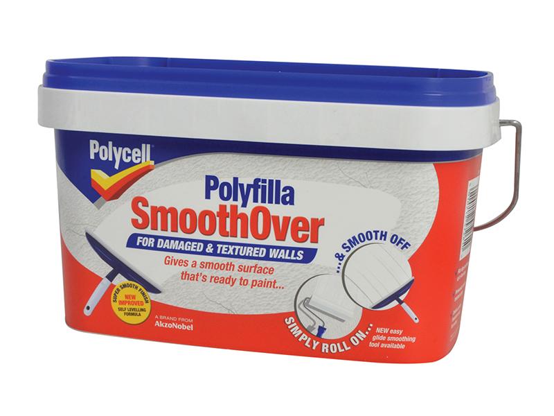SmoothOver Damaged / Textured Walls 2.5 Litre 1
