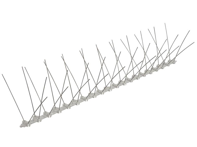 Professional Bird Spikes 10 x 500mm Metal Strips 1