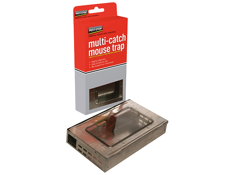 Multicatch Humane Mouse Trap Metal 1