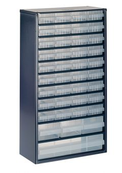 1240-123 Metal Cabinet 40 Drawer 8