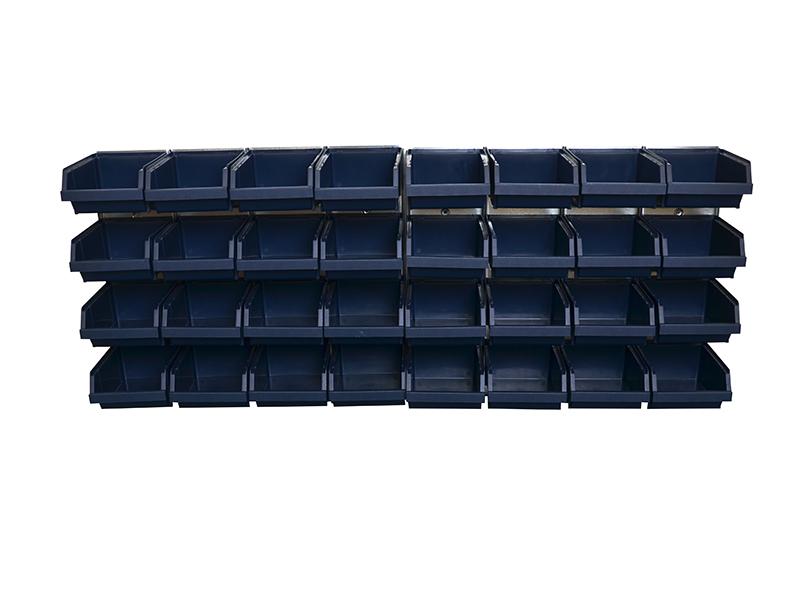 Bin Wall Panel with 32 Bins 1
