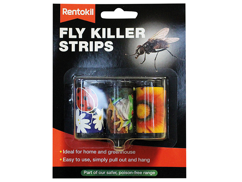 Fly Killer Strips Pack of 3 1