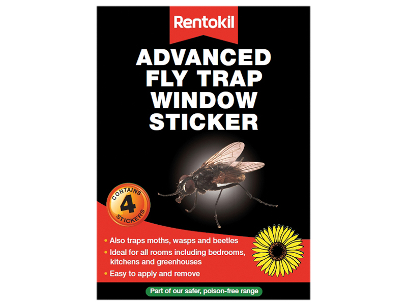 Advanced Window Fly Traps Pack of 4 1