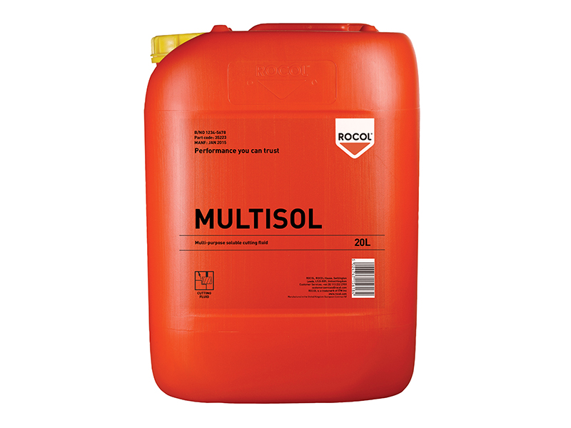 MULTISOL Water Mix Cutting Fluid 20 Litre 1