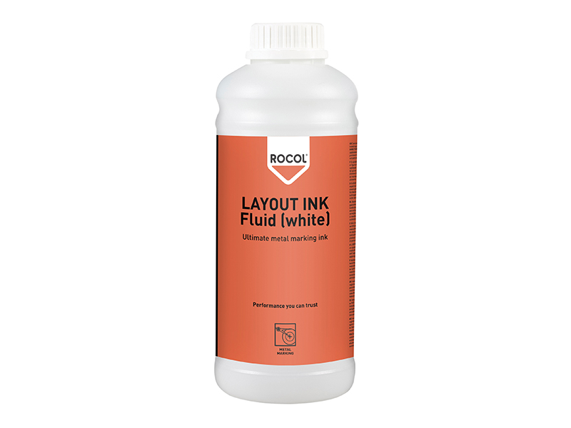 LAYOUT INK Fluid White 1 Litre 1