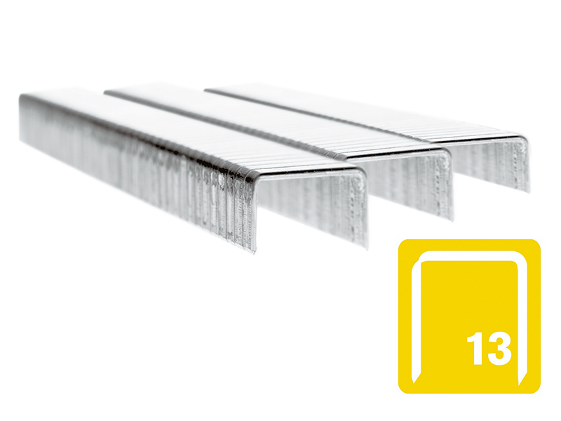 13/6 6mm Stainless Steel 5m Staples Box 2500 1