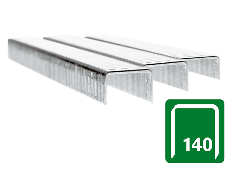 140/14 14mm Galvanised Staples Box 5000 1