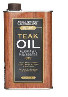 Colron Refined Teak Oil 500ml 2