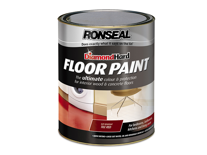Diamond Hard Floor Paint Slate 5 Litre Builders Superstore