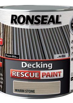 Decking Rescue Paint Warm Stone 2.5 Litre 10