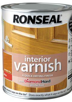 Interior Varnish Quick Dry Gloss Antique Pine 750ml 5