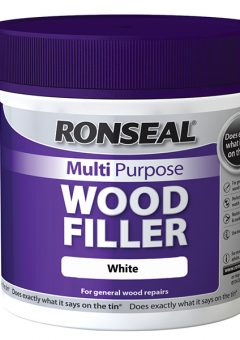 Multi Purpose Wood Filler Tub White 465g 5