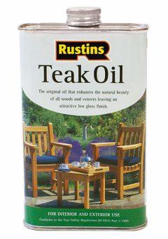 Teak Oil 500ml 2