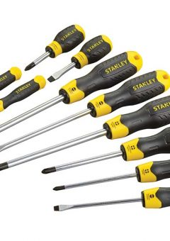 Cushion Grip Screwdriver Set of 10 SL/PH 4