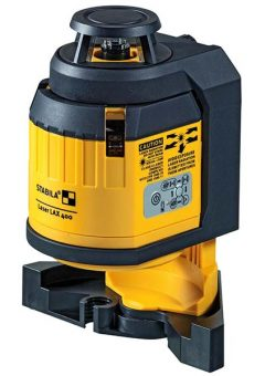 LAX 400 Self-Levelling Multi-Line Laser 9