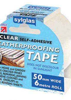 Clear Weatherproofing Tape 50mm x 6m Roll 4