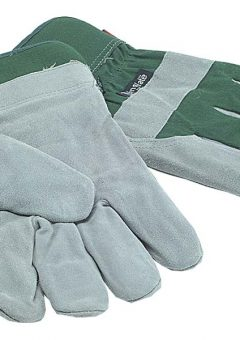 TGL412 Mens Fleece Lined Leather Palm Gloves 10