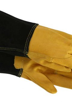TGL415 Mens Heavy-Duty Leather Palm Gauntlet 2