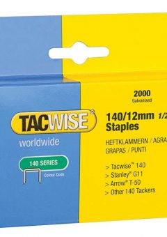 140 Heavy-Duty Staples 12mm (Type T50, G) Pack 2000 11