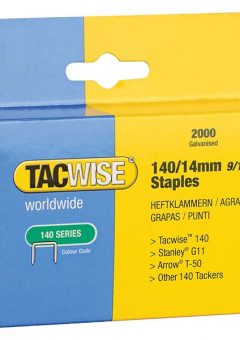 140 Heavy-Duty Staples 14mm (Type T50, G) Pack 2000 12