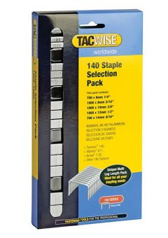 140 Heavy-Duty Staples (Type T50, G) Selection Pack 4400 9