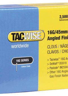 16 Gauge Angled Nails 63mm For DC618K Pack 2500 11