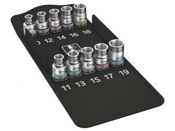 8790 HMC HF/10 Zyklop Screw Hold Socket Set of 9 Metric 1/2in Drive 1