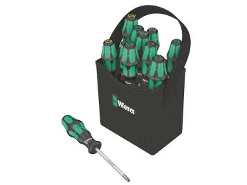 Kraftform Plus 2go 300 Screwdriver Set of 12 SL/PH/PZ/TX 1