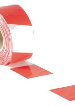 Barrier Tape 70mm x 500m Red & White - FAITAPEBARRW 4