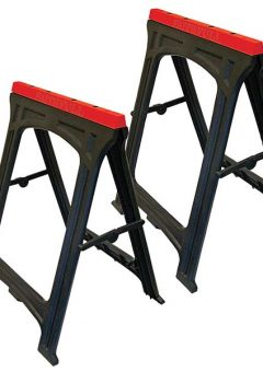 Plastic Trestles Height 82cm x Length 57cm (Twin Pack) - FAITRESTLESP 8