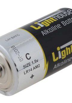 Alkaline Batteries C LR14 6200mAh Pack of 2 - L/HBATC 3
