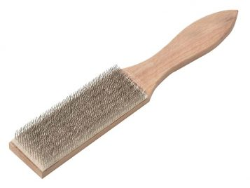 Steel File Cleaning Brush 250mm - LES037201 1