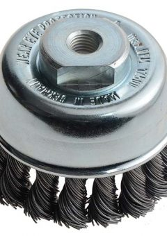 Knot Cup Brush 65mm M10 x 0.50 Steel Wire - LES482213 7