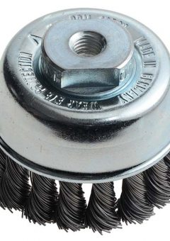Knot Cup Brush 65mm M10 x 0.50 Steel Wire - LES482214 6