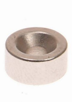 301b Countersunk Magnets (2) 10mm Polarity: South - MAG301B 10