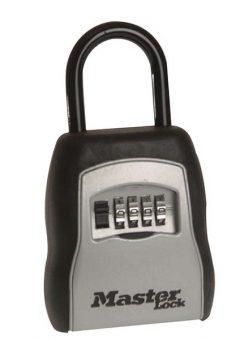 5400E Portable Shackled Combination Key Lock Box (Up To 3 Keys) 1