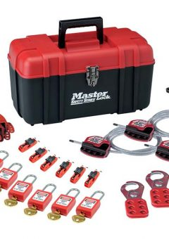 Valve & Electrical Lockout Toolbox Kit 23-Piece 1