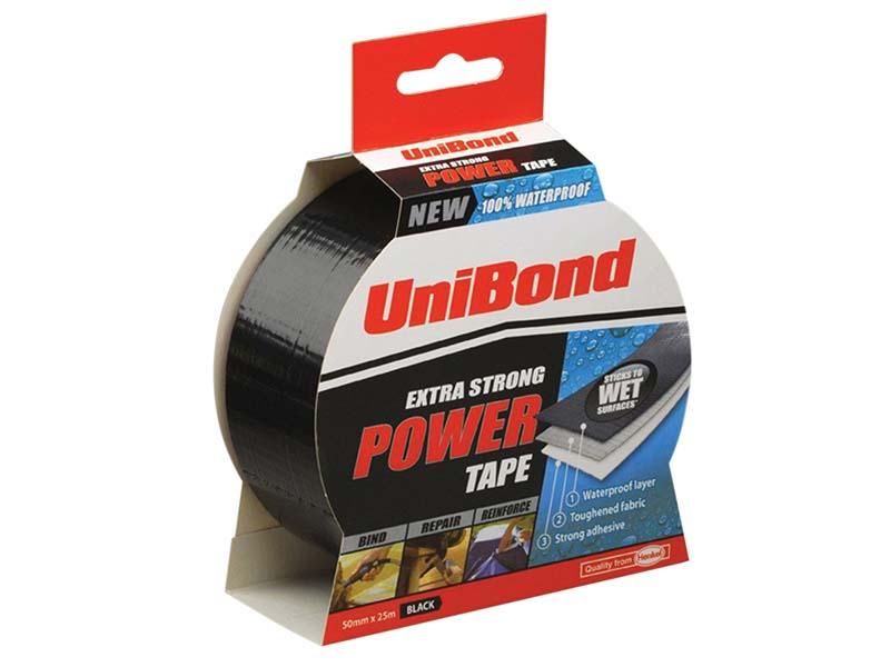 Powertape Black 50mm x 25m 1
