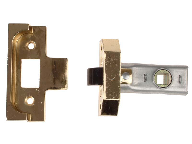 Rebated Tubular Mortice Latch 2650 Electro Brass 63mm 2.5in 1