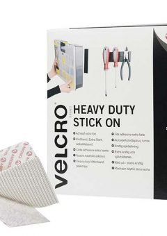 VELCRO® Brand Heavy-Duty Stick On Tape 50mm x 5m White 6